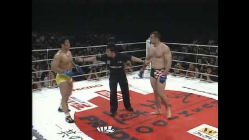 14 Hiromitsu Kanehara vs Mirko Cro Cop Filipovic PRIDE Bushido 3 23 05 2004