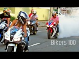 Bikers 100 - Best of Superbikes Sounds, Wheelie and Burnout Ultimate Compilation