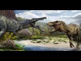 Гигантские чудовища: Крупнейший динозавр убийца  Спинозавр HD ( Динозавры HD )