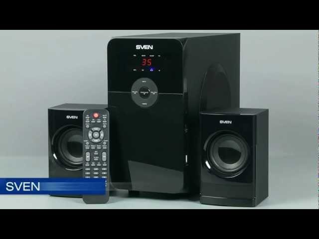 Видеообзор от iXBT.com - колонки SVEN MS-2000