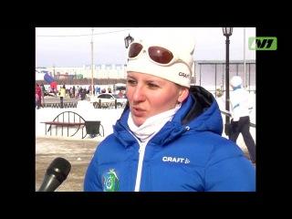 Нефтяники на лыжных гонках
