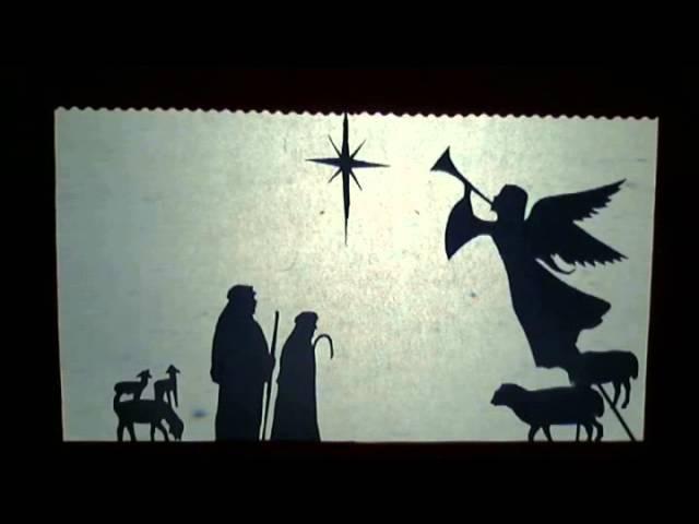 Театр теней. Рождественская История / Christmas Srtory Shadow Play
