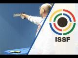 Finals 10m Air Pistol Men - 2015 ISSF World Cup Final in Rifle and Pistol in Munich