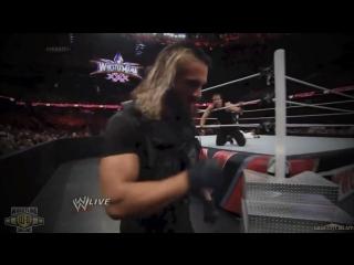 Щит WWE начало конца