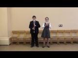 04 Свиридов. Колыбельная исполняют Фомина Софья (блок-флейта сопрано), Патрин Иван (блок флейта тенор)
