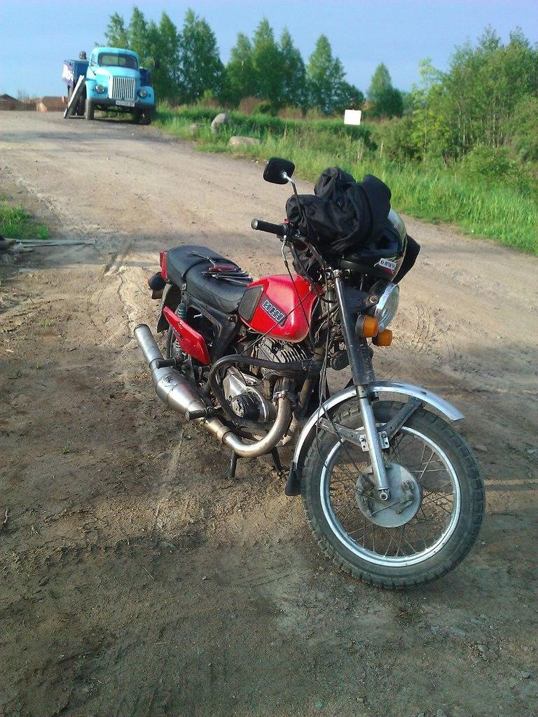 Как я сел на мотоцикл.
