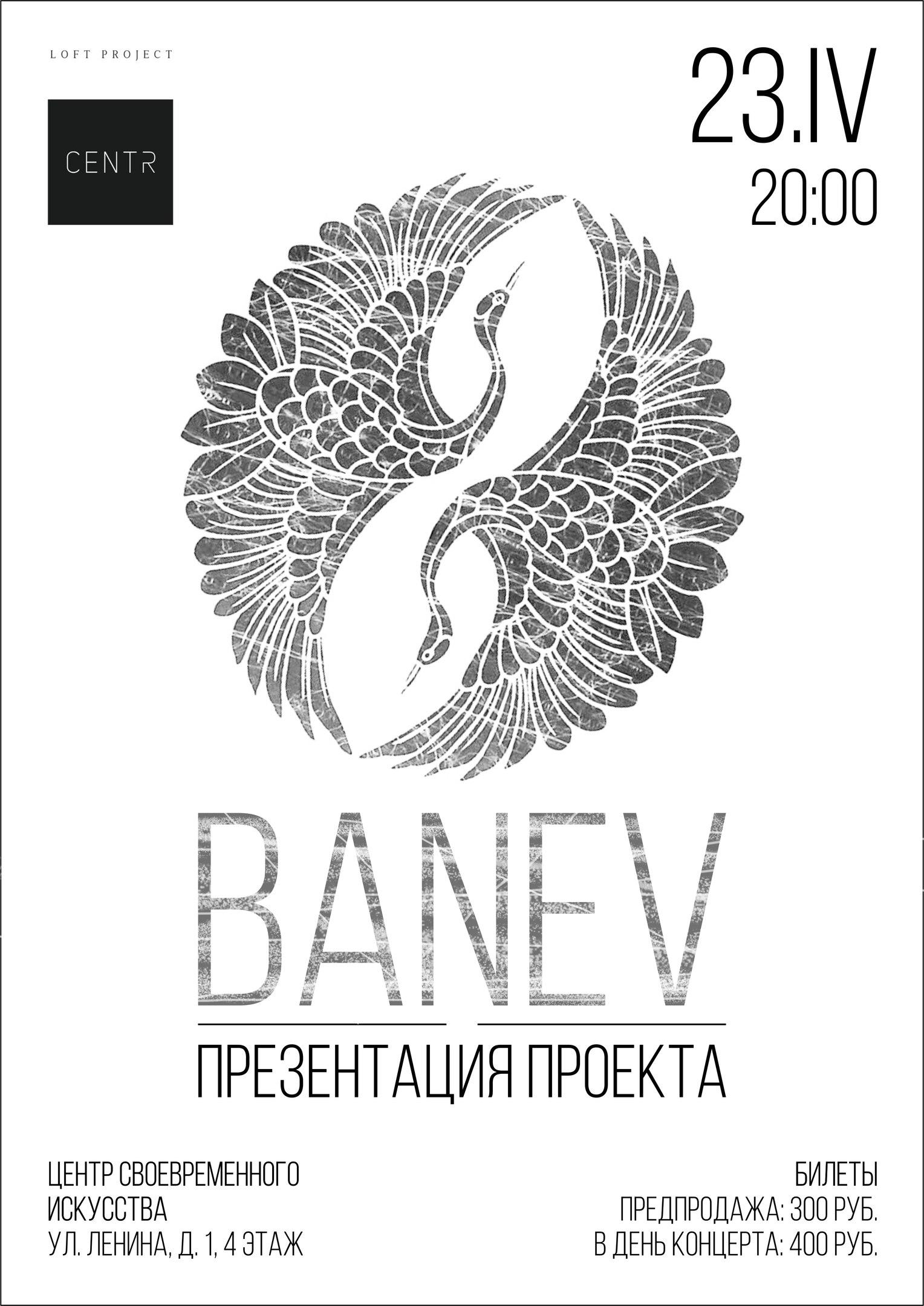 Banev. Презентация проекта