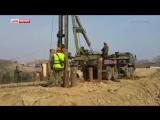 Военные начали строить переправу на месте обрушения моста в Приморье
