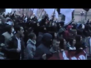 Москалив на ножи_ Марш УПА Свобода Киев 14 октября 2013