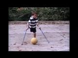 Нико Калабрия – футбол на костылях
