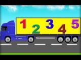 Мультики про машинки. Считалочка Учим цифры и Учимся считать до 10. Развивающий мультфильм для детей