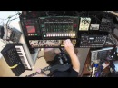 Psychedelic jam session - KORG ms-20, TR-8, analog four, line6, volca - (BURG - The saucer people)