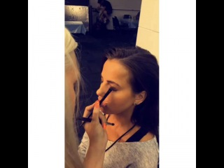 Smithers x Payno on Instagram: Lottie doing Sophia's make up back stage at the concert today  #lottietomlinson #sophiasmith #sophiam