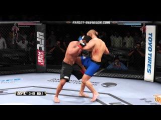 EA UFC. IvanBoyko001 vs LVC_ROB_1991