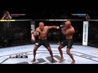 EA UFC. IvanBoyko001(red corner) vs LVC_ROB_1991(blue corner)