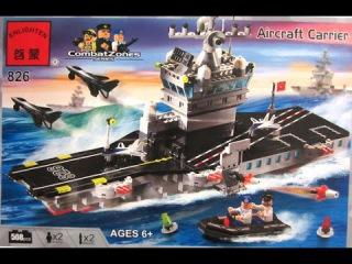 Лего Копия. Конструктор Брик Военный корабль. Combat Zones 826. #LEGO
