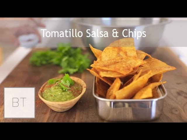 Tomatillo Salsa Chips | Byron Talbott