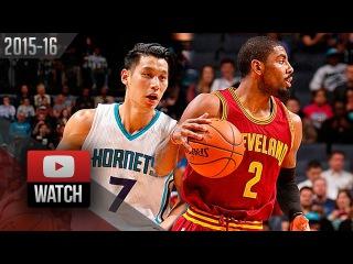 Jeremy Lin vs Kyrie irving PG DUEL Highlights (2016.02.03) Hornets vs Cavaliers - EPIC!