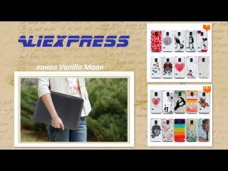Aliexpress (№ 93, 94) 2015 / Чехлы на телефон SAMSUNG s5 mini и ноутбук / Распаковка Обзор