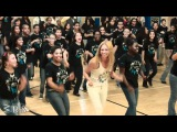 Beyonce surprises students - Let's Move! Flash Workout for New York City