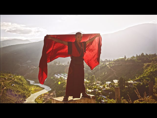 For that moment in Bhutan and Nepal.