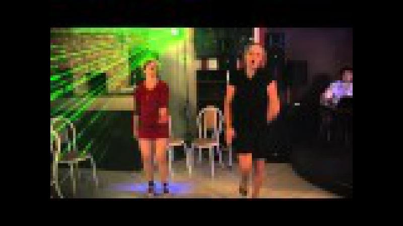 Вот как надо зажигать ! Russian girls dance !