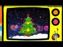 Как нарисовать Новогоднюю елку Оживающие рисунки How to draw a Christmas tree Наше всё