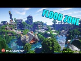 MCCC Flood Zone Water World Flooded City Town Disaster Map Download Minecraft PC/PS3/PS4/Xbox