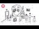 СХЕМАТИЧНО №14 Про те як дітям Потерпіленко цукерки дарували