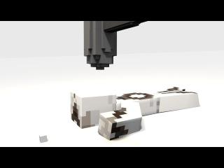 FLIP FAIL! | ft. MAMA's b0y | (Minecraft Animation)