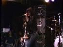 Ramones live at CBGB 1977 part 1