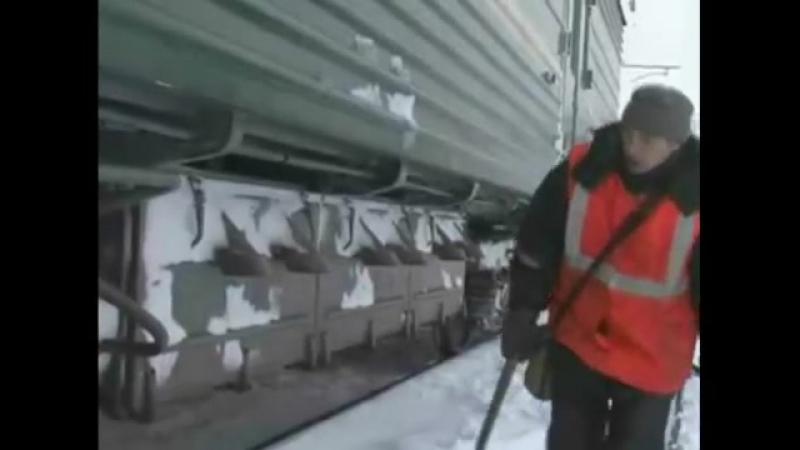 ТО пассажирского поезда, вчдэ-7.