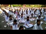 A video of one of the 500 Sahaja Yoga meditation workshops conducted in 500 schools.