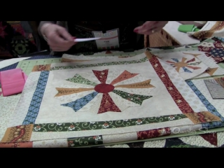 How to use Strip-It Fabrics - Marcus Brothers Fabrics - QuiltCon 2013 [HD, 720p]