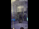 Крутой воздушный акробат Леонид Волков в аэродинамической трубе / Leo Volkov Winner Wind Games 2016