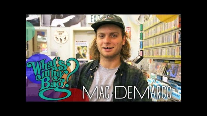 Mac DeMarco - Whats In My Bag