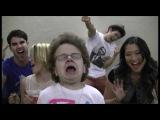 Don't Stop Believin' with (Me &amp Glee's Dianna Agron, Darren Criss, Jenna Ushkowitz, Harry Shum, Jr)