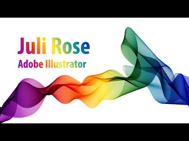 Уроки по Adobe illustrator / how to make drop in Adobe Illustrator / Julia Rose