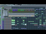Indecent Noise - Razor (James Dymond Remix) FL Studio Project View