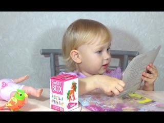 Открываем журнал Барби и Свит Бокс Пони  Open the magazine Barbie Sweet and Boxing Ponies