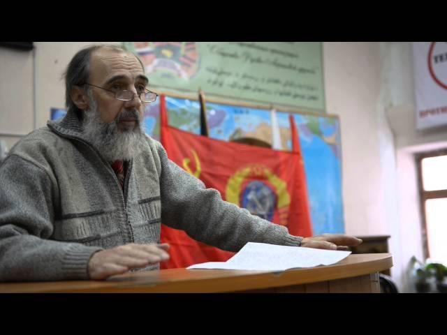 Профессор Юрий Бархоткин - 2015.12.30 - Иваново - Советский Центр у Азиза