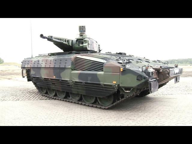 Rheinmetall Defence KMW - Puma Infantry Fighting Vehicle Presentation [1080p]
