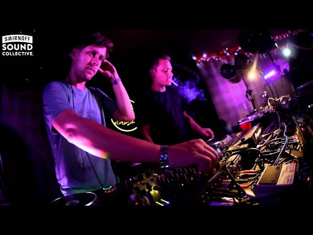 SUPER FLU deep melodic house set in The Lab at Smirnoffhouse