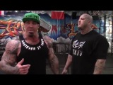 BIGGER BY THE DAY - EPISODE 5 - FEATURING THE BEAST ALEX DICIERO - CALVES & FOREARMS - 30 POUNDS