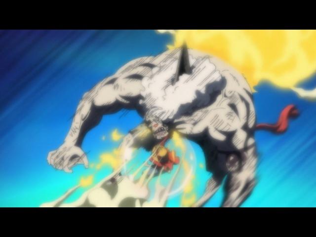 Luffy's Epic Punch - Gomu Gomu No Red Hawk ! HD