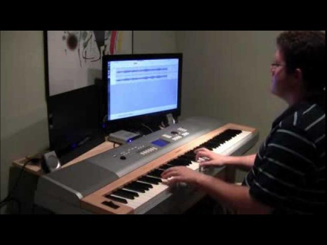 А. Розенбаум - Вальс Бостон Rozenbaum - Waltz Boston (фортепиано)