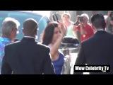 Jenna Dewan Tatum arrives to film Jimmy Kimmel Live