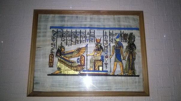 Картина в египетском стиле