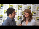 SDCC 2015 Interview with Lucy Lawless for Starzs Ash vs Evil Dead