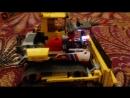 самодельный лего трактор